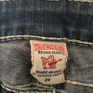 True Religion Jeans - Distressed Jeans